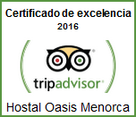 TripAdvisor, Certificate of Excellence Winner 2016