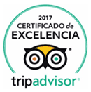 TripAdvisor, Certificate of Excellence Winner 2017